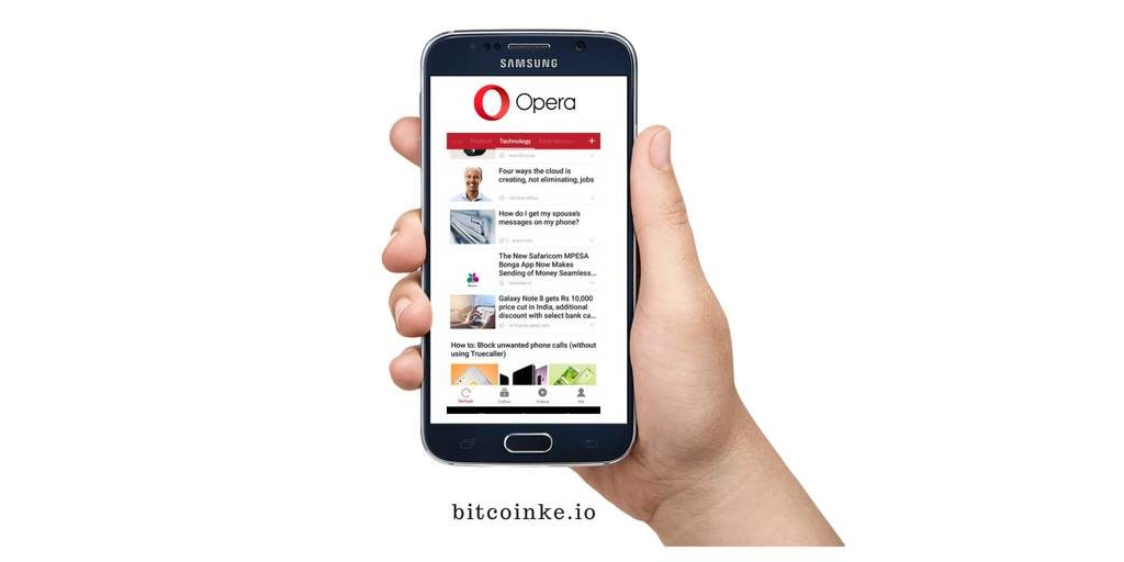 BitcoinKE News Now Available On The Opera App TAGS Crypto Wallet