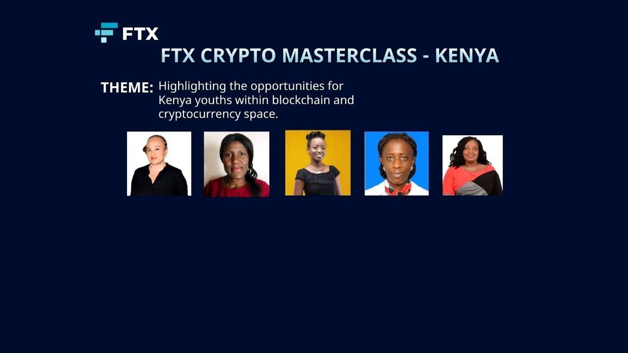 [WEBINAR FEB 6-7, 2021] Meet the FTX Kenya Crypto MasterClass All Women Panelists