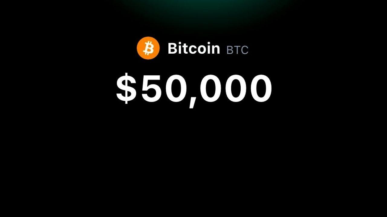 Bitcoin Breaks the $50, 000 Milestone Following MicroStrategy's Announcement