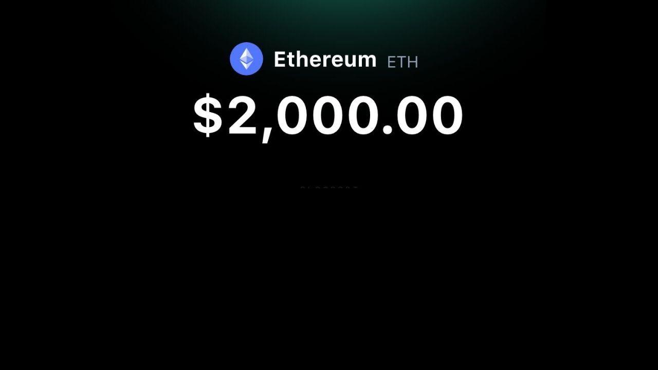 Ethereum Breaks the $2,000 Milestone