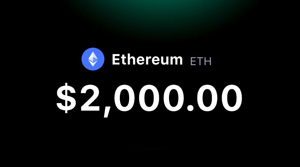 Ethereum Breaks the $2,000 Milestone - Bitcoin KE