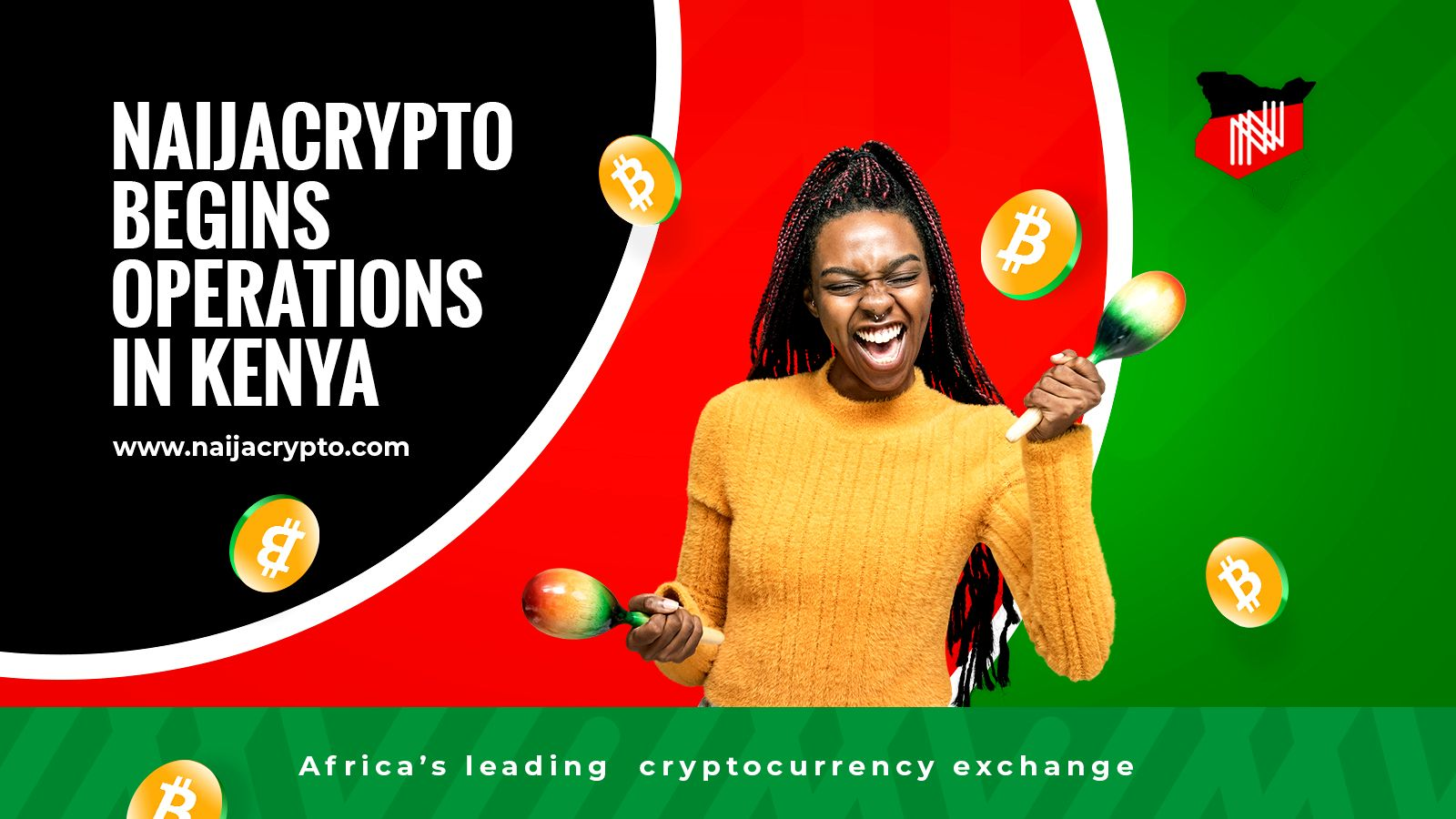 NaijaCrypto Launches in Kenya with Kenya Shilling (KES) Trading Pairs