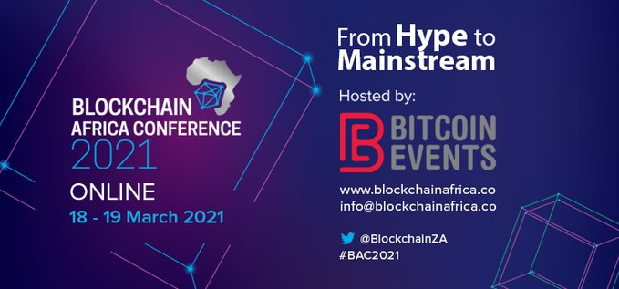 [CONFERENCE MARCH 18-19, 2021] Catch the CEO of Cardano, FTX, and ByBit, at the Upcoming 'From Hype to Mainstream' Blockchain African Conference 2021
