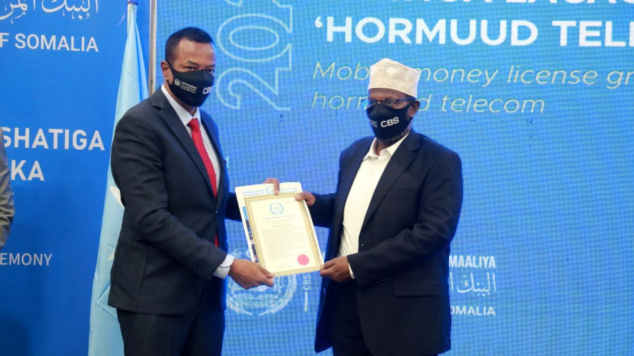 The Central Bank of Somalia Issues First License to the Country's Largest Telecommunications